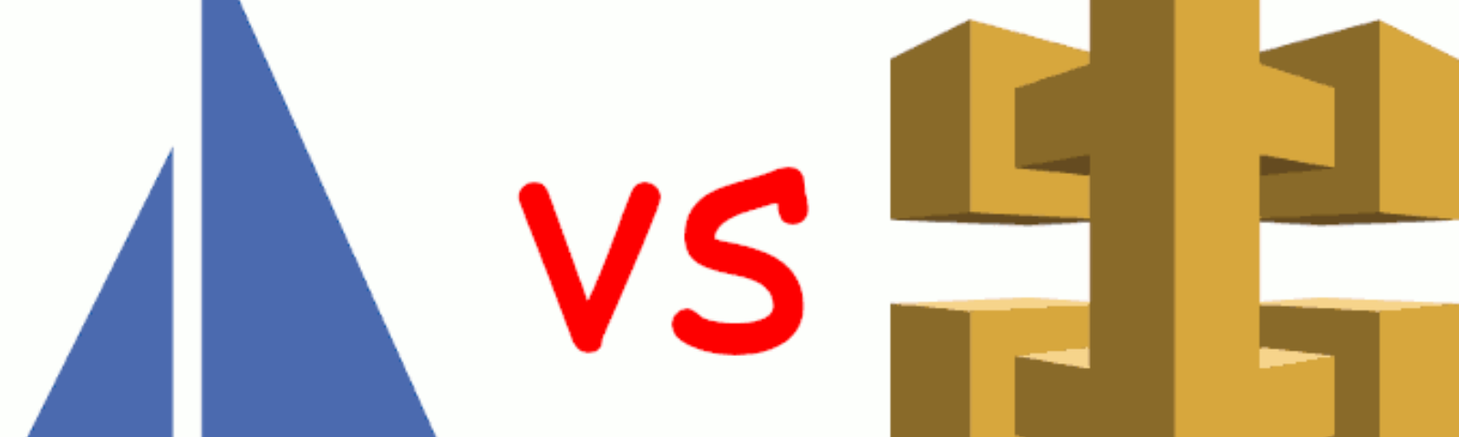 Istio logo representing service meshes in general vs. AWS' API gateway logo representing API gateways in general.