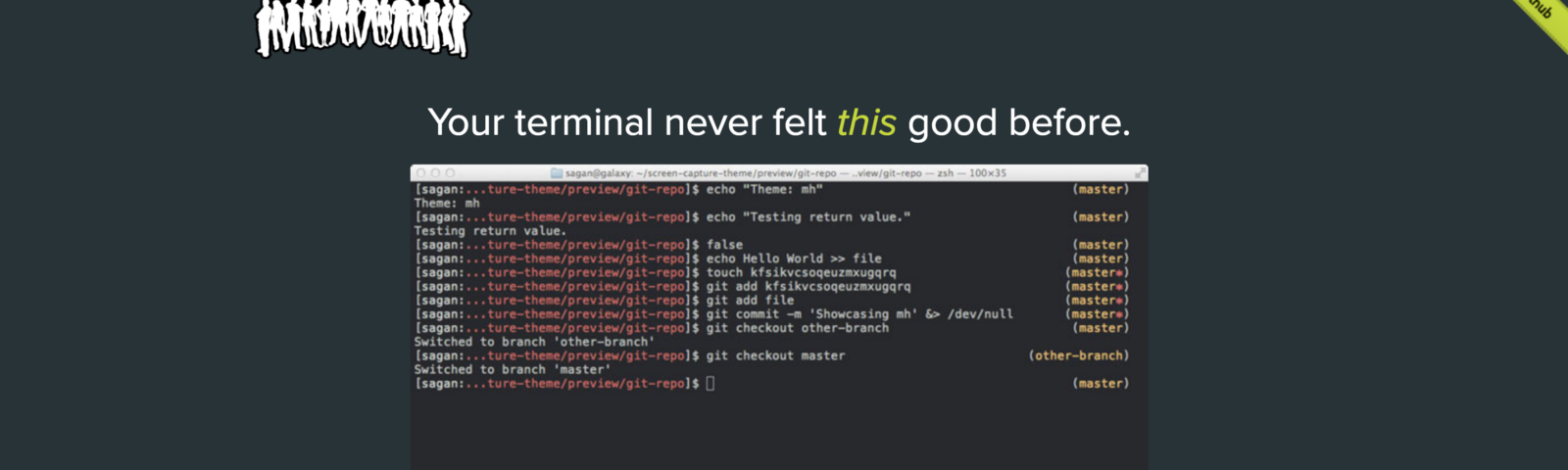 """Jazz Up Your """"ZSH"""" Terminal In Seven Steps — A Visual Guide"""