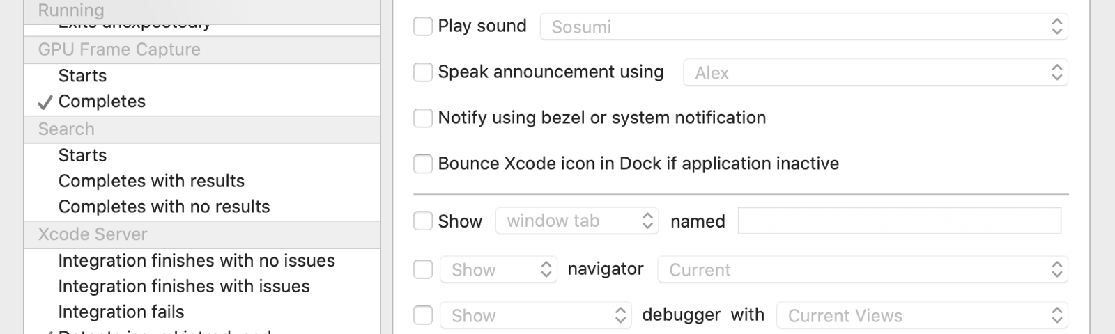 Xcode → Behaviors →Tap On + Button -> Name the custom workflow as pod-install → Run Script → Select the script