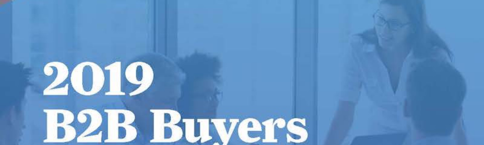 The 2019 DemandGen B2B Buyers Survey Report has important insights for intent data