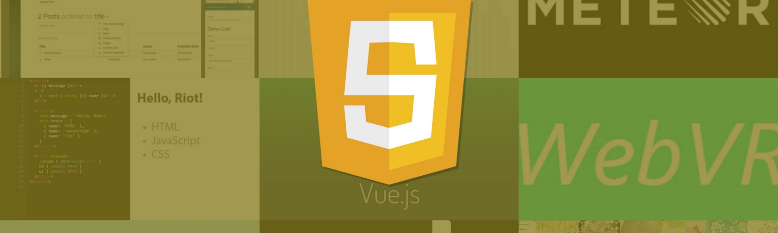 12 Javascript Libraries To Watch In 2017 Webdesigner Depot