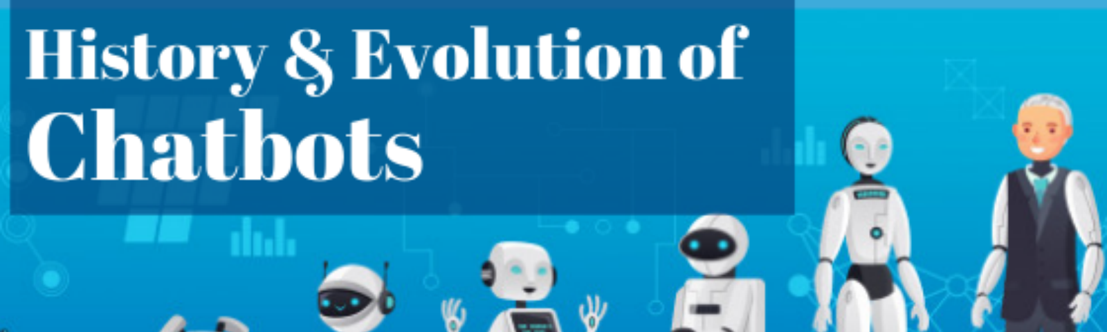 History and Evolution of chatbots.