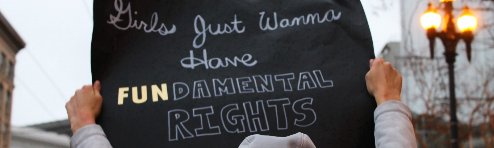 girls just wanna have FUNdamental rights sign