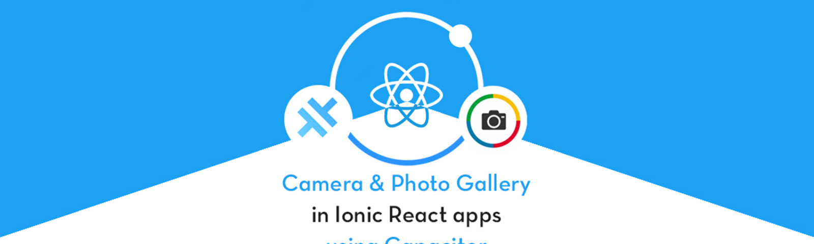 Camera and Photo Gallery in Ionic React app using Capacitor
