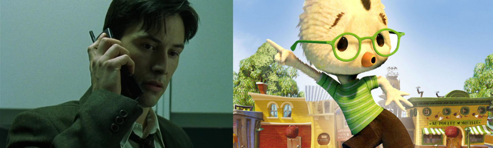 The Shocking Similarities Between The Matrix 1999 And Chicken Little 2005 By Badgerguy79 Medium