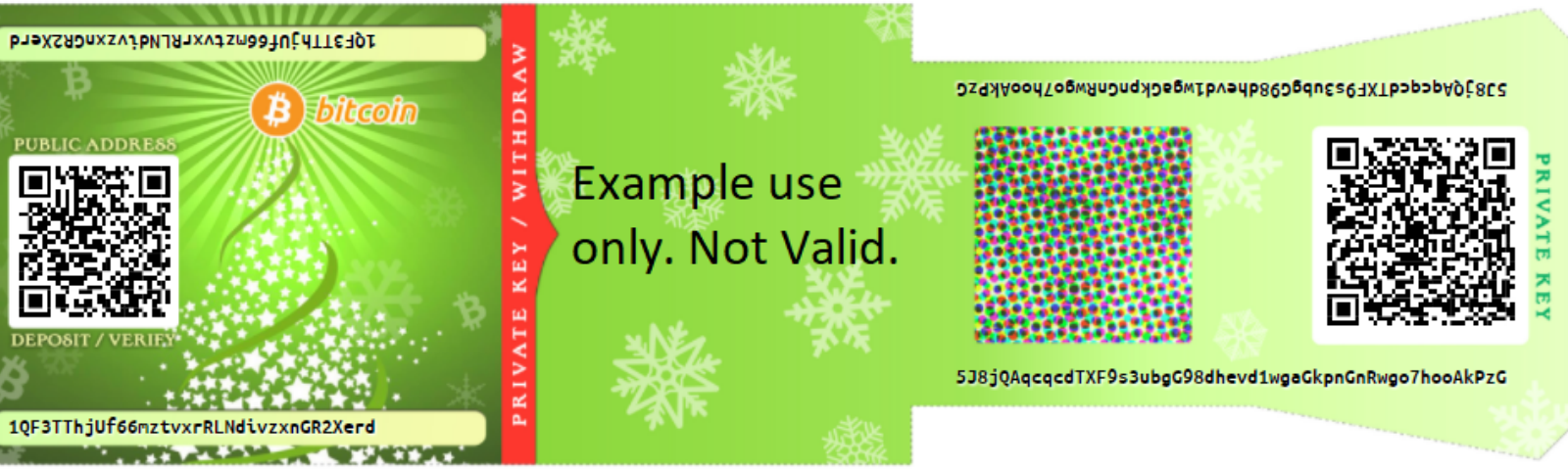 7adc6b278c Christmas Bitcoin Gift Cards for Everyone