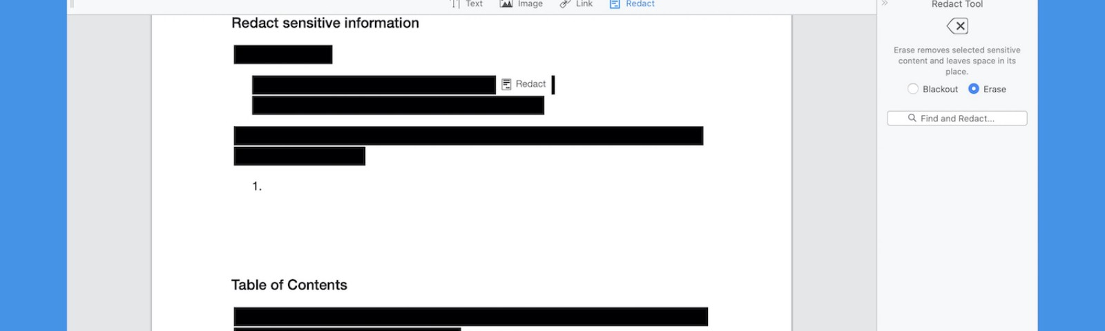 How to Redact PDF on Mac