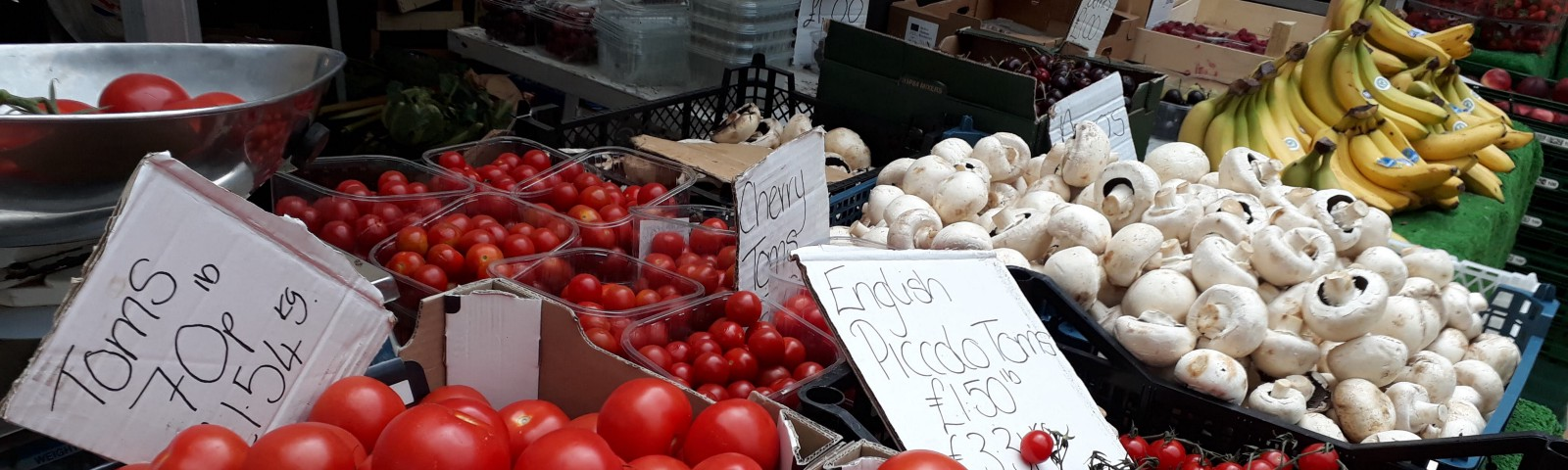 fruit and vegetable stall Lincoln Central Market facing eviction