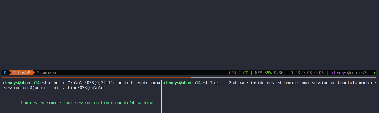 tmux in practice: integration with system clipboard