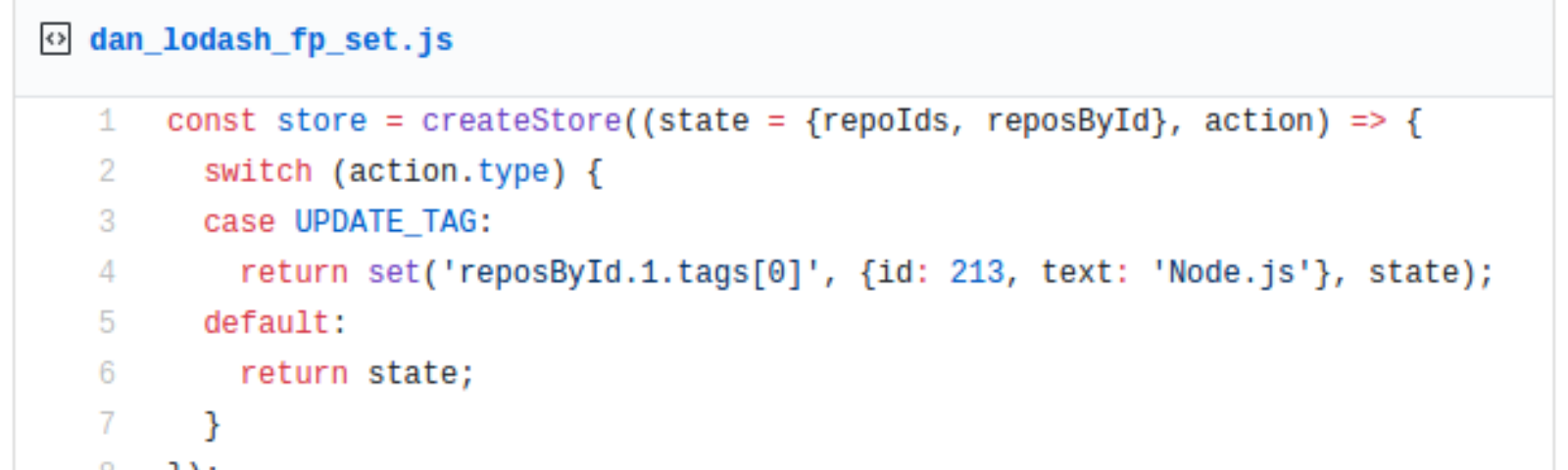 A small trick to write clean reducers - By