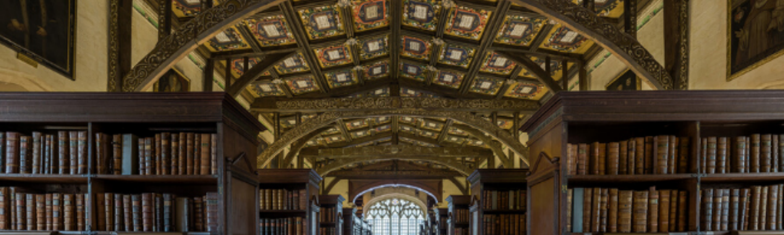 inside of a library
