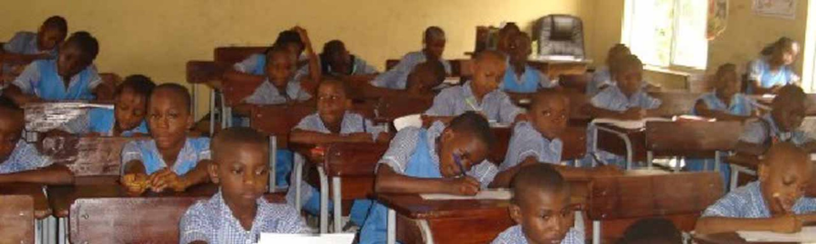 Credit: Guardian.ng, The picture looks like my primary school though. Same Uniforms.