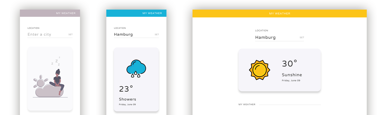 Building a simple, responsive weather app with React.js