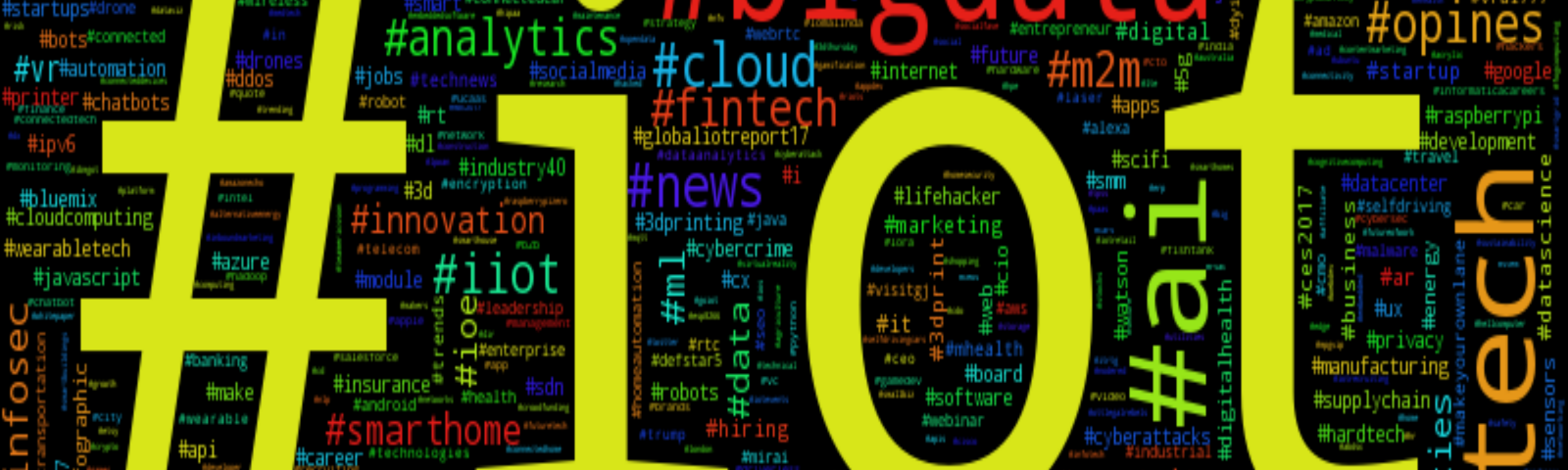 The Internet of Things — on Twitter - Towards Data Science