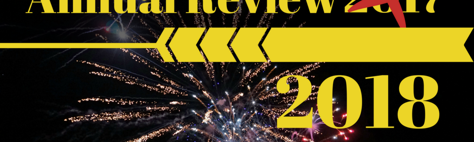 The (first) annual review of 2018 - Looking back at the