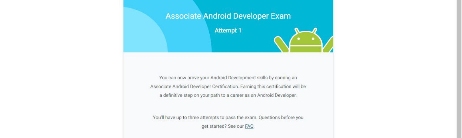 Certification – AndroidPub