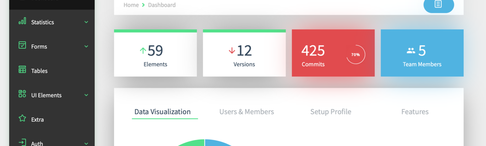 Useful Vue Admin Templates for 2019 - Bits and Pieces