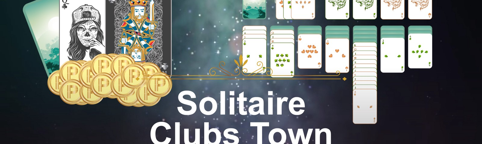 Solitaire Clubs Town