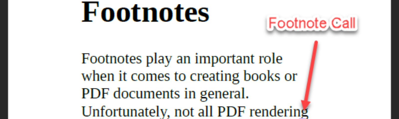 Footnotes rendered with PDFreactor.