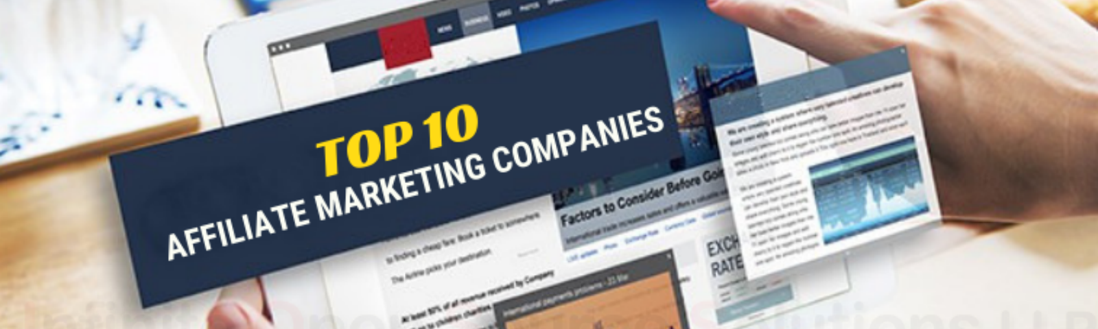 Top 10 Affiliate Marketing Companies - Abdul Majeed - Medium