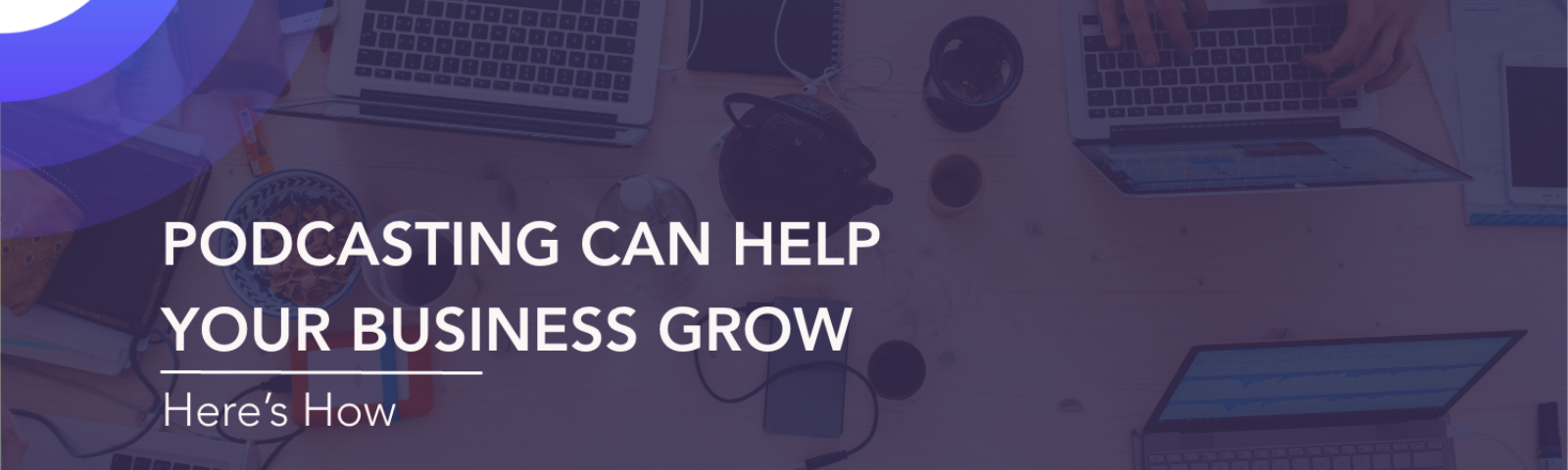 grow business podcasting