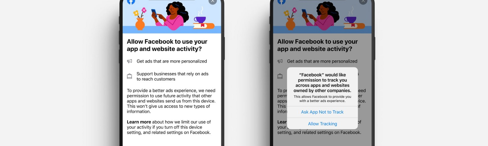 Facebook iOS 14 anti-ad tracking Apple personalized ads