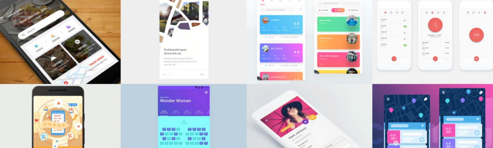 The Best of Material Design in June 2017 - Daily assets for