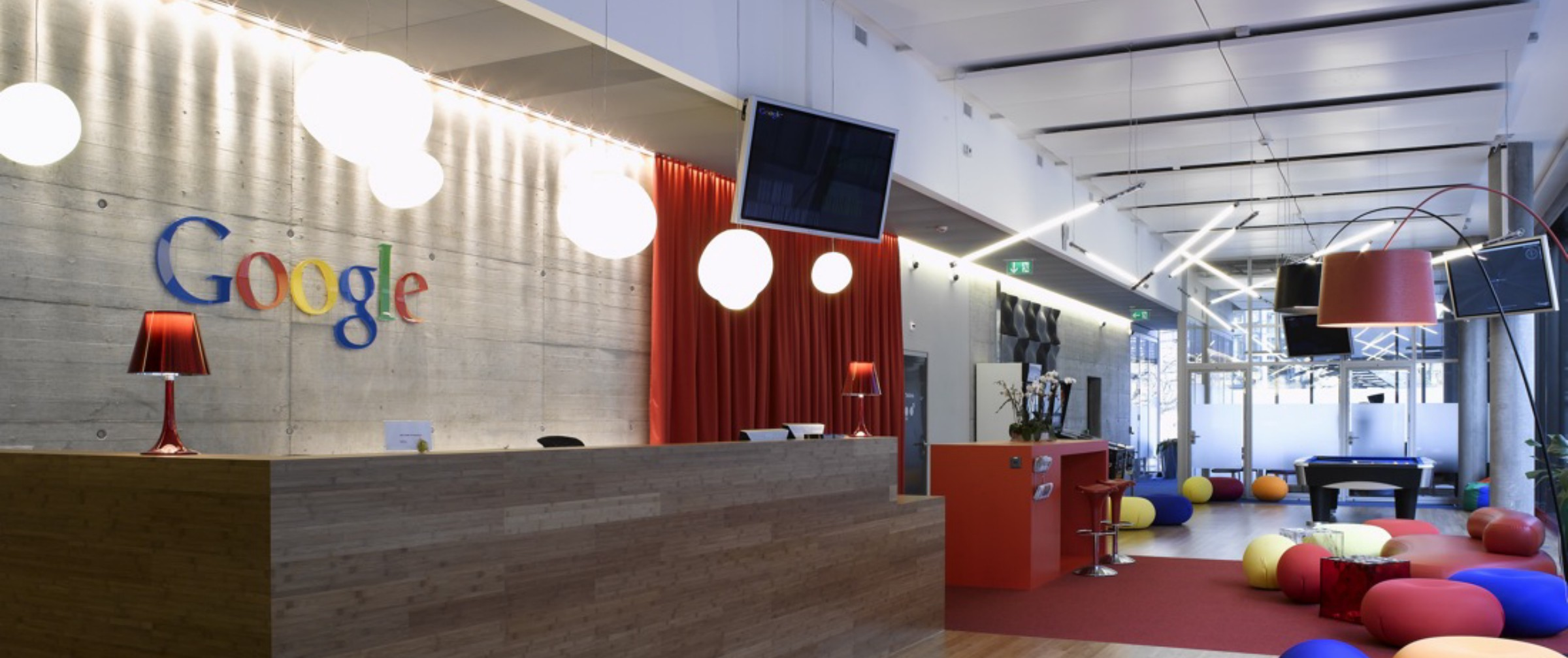 trendy office. Start-up Glamour And The Trendy Office