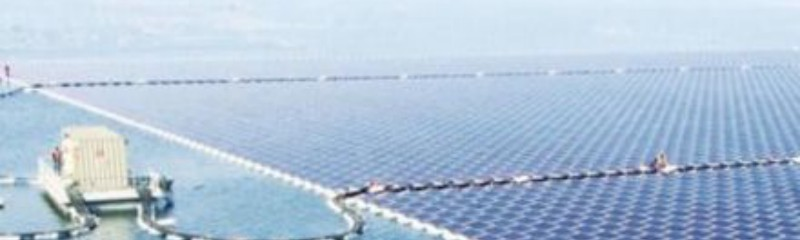 China is now getting its power from the largest floating solar farm on Earth