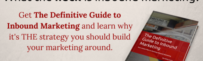 free guide to learn about inbound marketing