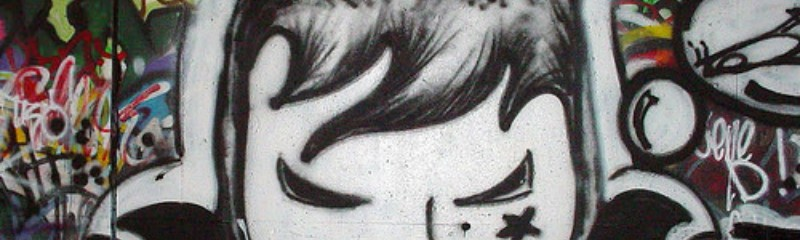 Anime artwork Graffiti
