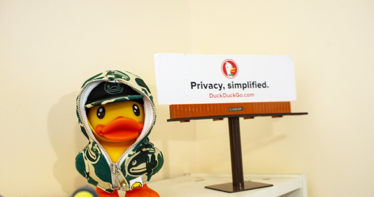 nothing can stop google  duckduckgo is trying anyway