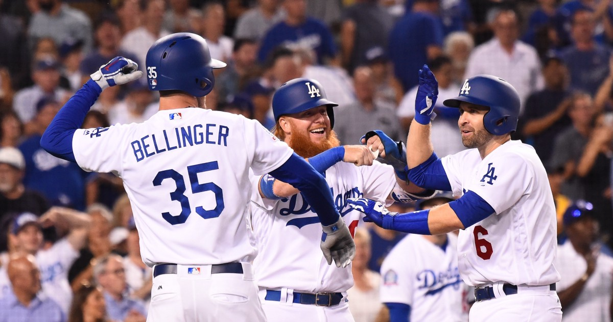 Dodgers hit the home run cycle, set Dodger Stadium record with 21 runs