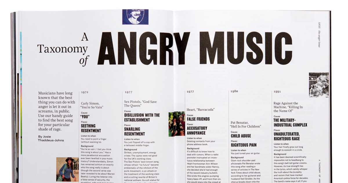 Songs In The Key Of Rage Anxy Magazine Medium