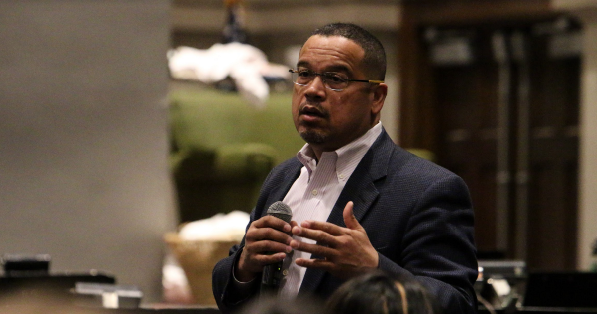 I Have Fought Against Hate My Entire Career Rep Keith Ellison