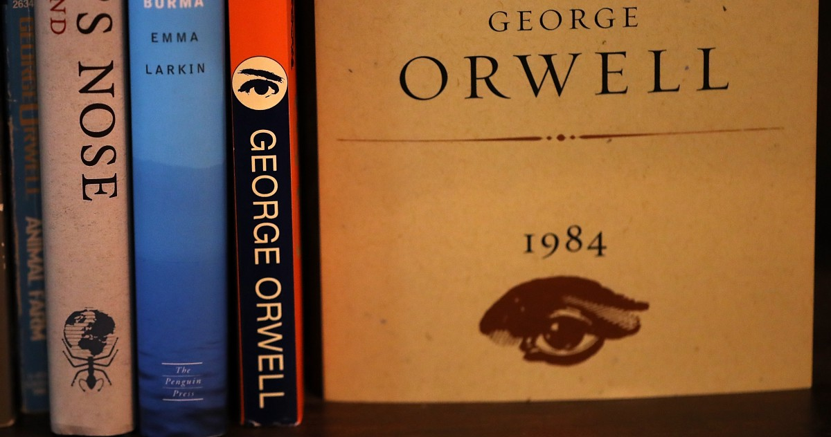 1984 george orwell's novel ssay Read this essay on 1984 george orwell nineteen eighty-four (or 1984) is an english dystopian novel by george orwell, written in 1948 and published in 1949.