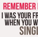 """Single and…"" #5 Other Single Friends"