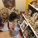 Last night my 2-year-old daughter Satya Devi Singh walked in to the prayer room at my parent's…