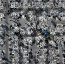 2 cm drone imagery of damage to Coffey Park and Journey's End in Santa Rosa