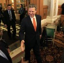 Sam Brownback, author of a fiscal calamity, rejects Medicaid on budget grounds