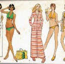 This collection of vintage bikini patterns will have you wishing for more summer