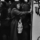 Gritty and gripping photos of the NYC subway at its most dangerous