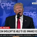 Trump calls for end to unnamed sources shortly after his staff gives unnamed briefing