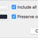 First impression of Sketch 48 Find and Replace Color feature