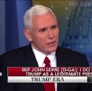 Pence defends Trump calling John Lewis a failure to black people