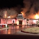 Hours after Trump signs Muslim ban, Texas mosque goes up in flames