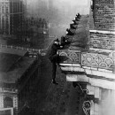 Climbing skyscrapers from the ground up was Harry Gardiner's specialty in the early 20th century