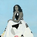 Amy Sherald's Official Portrait of Michelle Obama Reimagines What it Means to Be a Vibrant…