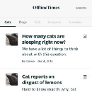 Offline Patterns: There are many jobs to be done