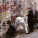 This photographer's collection of Berlin Wall graffiti photos show the politics of paint